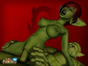 Goblin fucks Elf babe comics xxx