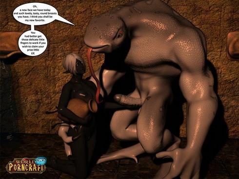 Dwarf elf sex stories