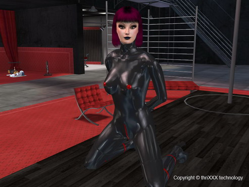 3D porn game of BDSM style : Genre of game Sex Simulator