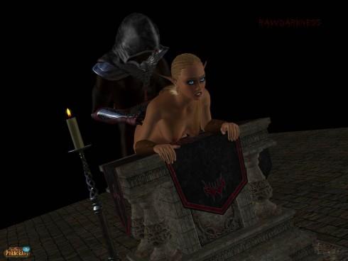 Warcraft porn 3D scene 3